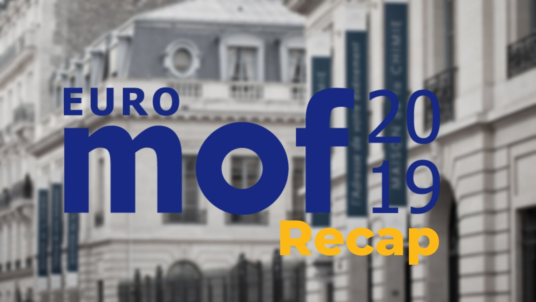 EuroMOF2019 – A recap & my best-of's