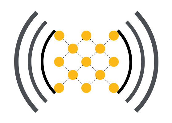Electromechanical MOF Sensor