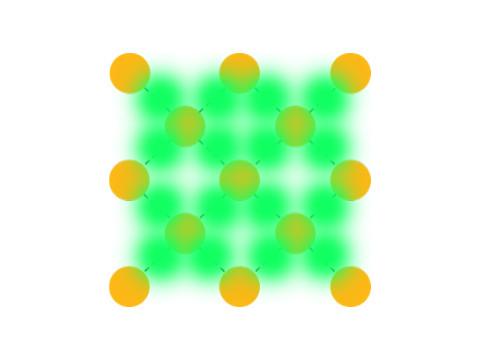 Ligand-based luminescent sensor material